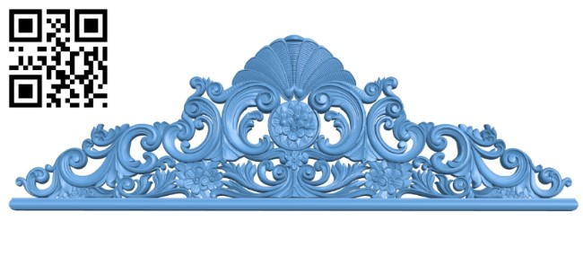 Pattern in the center A006185 download free stl files 3d model for CNC wood carving