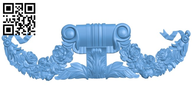 Pattern in the center A006195 download free stl files 3d model for CNC wood carving