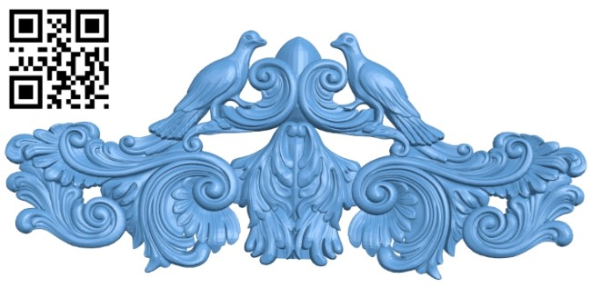 Pattern in the center A006206 download free stl files 3d model for CNC wood carving