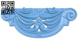 Pattern in the center A006209 download free stl files 3d model for CNC wood carving