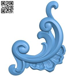 Pattern in the corner A006300 download free stl files 3d model for CNC wood carving