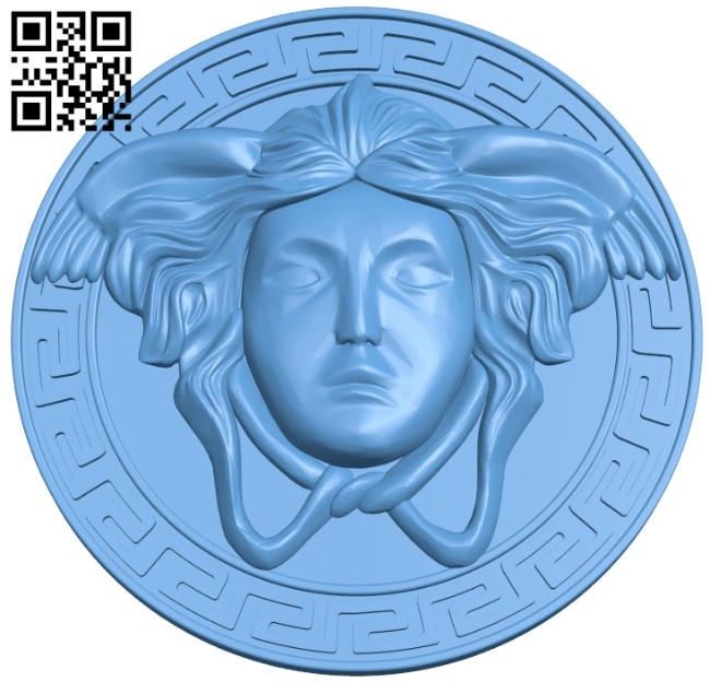 Pattern of human face A006224 download free stl files 3d model for CNC wood carving