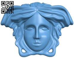 Pattern of human face A006228 download free stl files 3d model for CNC wood carving
