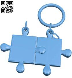 Pendant Puzzle B009336 file obj free download 3D Model for CNC and 3d printer