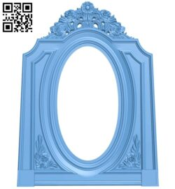 Picture frame or mirror A006201 download free stl files 3d model for CNC wood carving