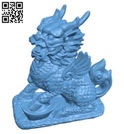 Qilin B009274 file obj free download 3D Model for CNC and 3d printer