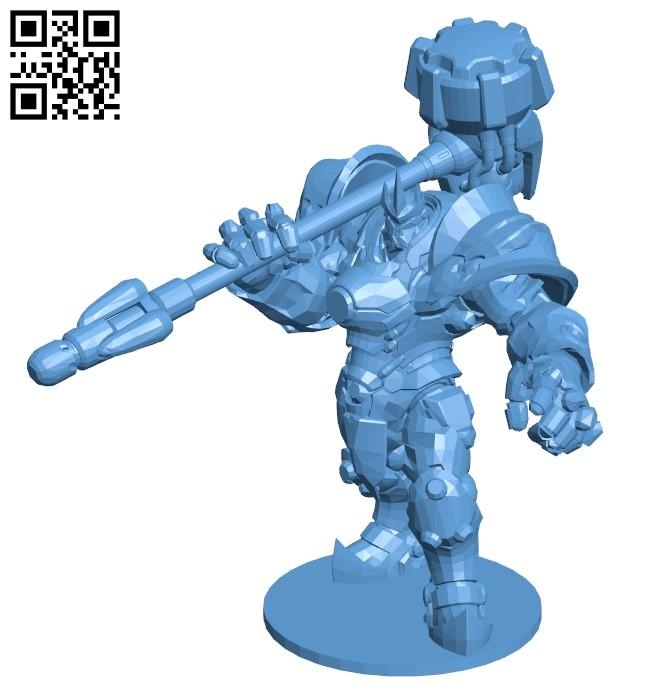 Reinhardt B009283 file obj free download 3D Model for CNC and 3d printer
