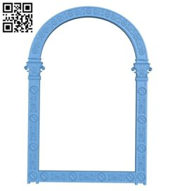 Religious picture frames or mirrors A006211 download free stl files 3d model for CNC wood carving