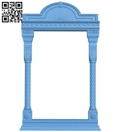 Religious picture frames or mirrors A006212 download free stl files 3d model for CNC wood carving