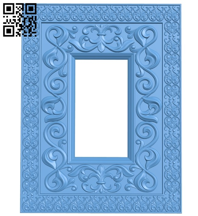 Religious picture frames or mirrors A006214 download free stl files 3d model for CNC wood carving