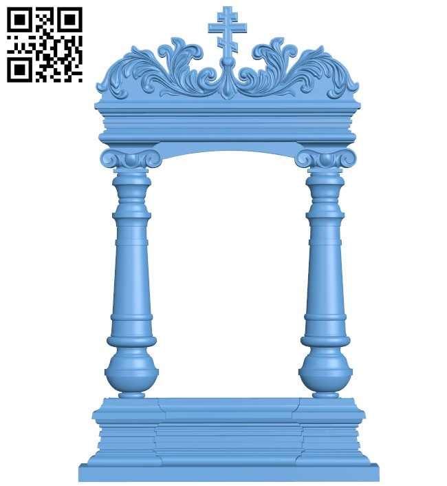 Religious picture frames or mirrors A006215 download free stl files 3d model for CNC wood carving