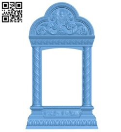Religious picture frames or mirrors A006217 download free stl files 3d model for CNC wood carving