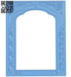 Religious picture frames or mirrors A006218 download free stl files 3d model for CNC wood carving