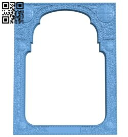 Religious picture frames or mirrors A006219 download free stl files 3d model for CNC wood carving