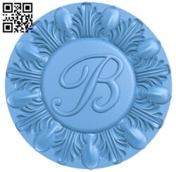 Round plate pattern A006240 download free stl files 3d model for CNC wood carving