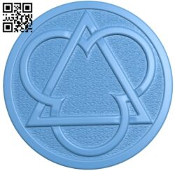 Round plate pattern A006241 download free stl files 3d model for CNC wood carving