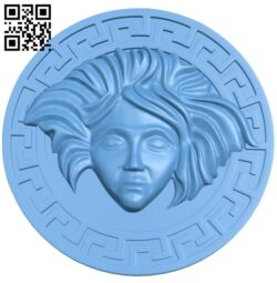 Round plate pattern A006243 download free stl files 3d model for CNC wood carving