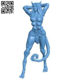 Selencal – women B009368 file obj free download 3D Model for CNC and 3d printer