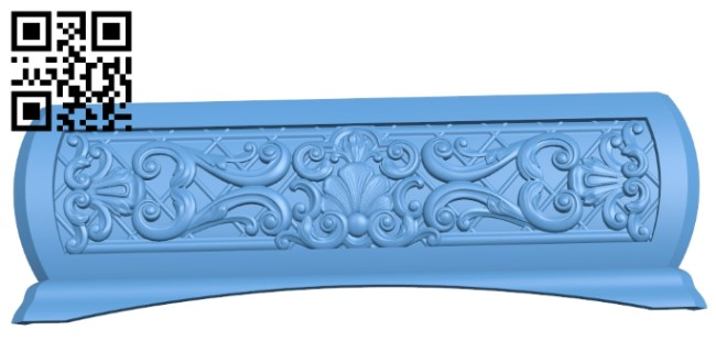 Sidewall pattern A006291 download free stl files 3d model for CNC wood carving