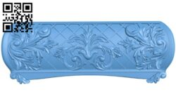 Sidewall pattern A006292 download free stl files 3d model for CNC wood carving