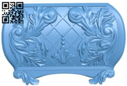 Sidewall pattern A006293 download free stl files 3d model for CNC wood carving