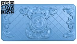 Sidewall pattern A006294 download free stl files 3d model for CNC wood carving