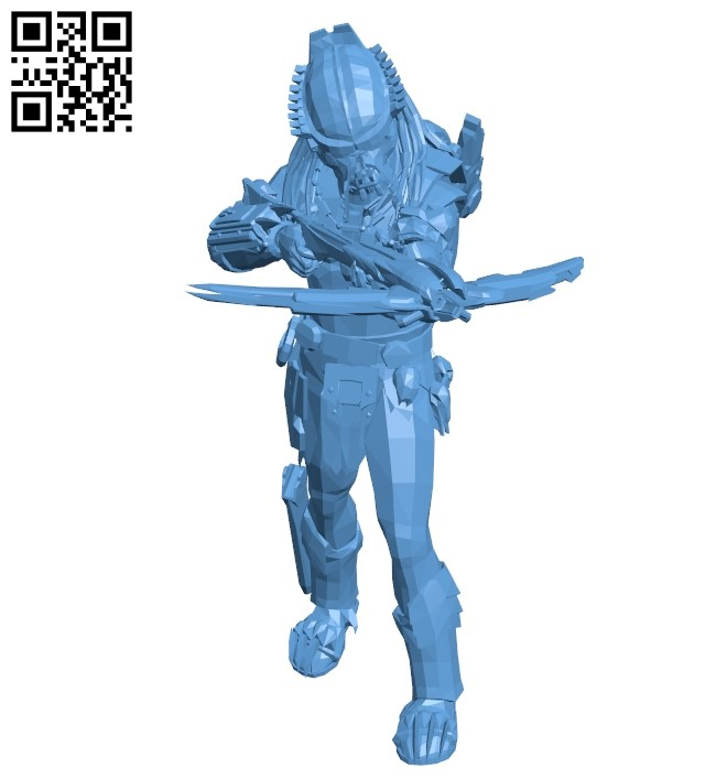 Space Monster B009372 file obj free download 3D Model for CNC and 3d printer