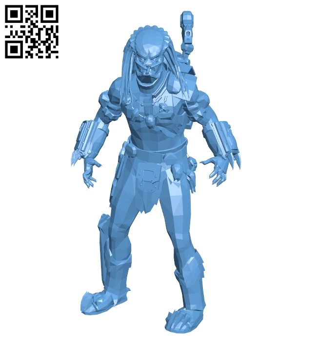 Space monster B009354 file obj free download 3D Model for CNC and 3d printer