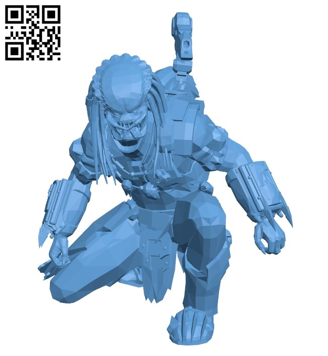 Space monster B009369 file obj free download 3D Model for CNC and 3d printer
