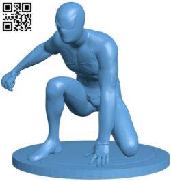 Spiderman – superhero B009265 file obj free download 3D Model for CNC and 3d printer