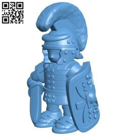 Stand roman soldier B009236 file obj free download 3D Model for CNC and 3d printer
