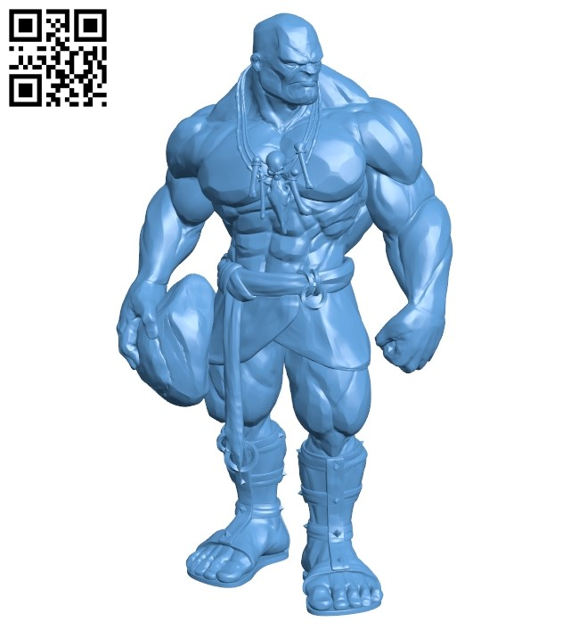 Stone Giant B009251 file obj free download 3D Model for CNC and 3d printer