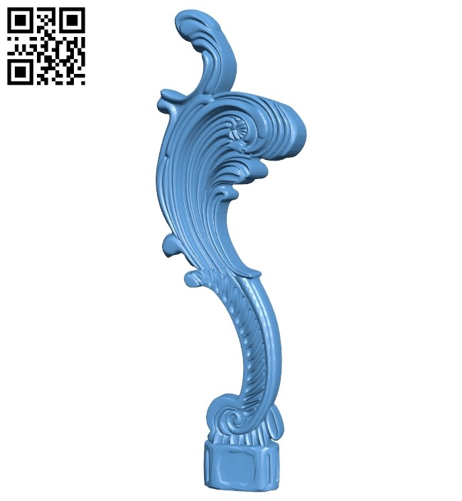 Table legs and chairs A006253 download free stl files 3d model for CNC wood carving