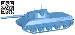 Tank Rhm.Pzw B009308 file obj free download 3D Model for CNC and 3d printer