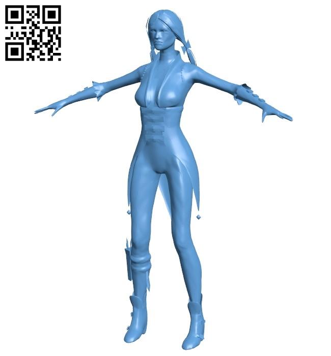 Women former psychiatrist B009290 file obj free download 3D Model for CNC and 3d printer