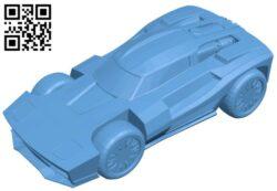Breakout V1 – car B009410 file obj free download 3D Model for CNC and 3d printer