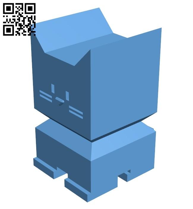 Calicat B009423 file obj free download 3D Model for CNC and 3d printer