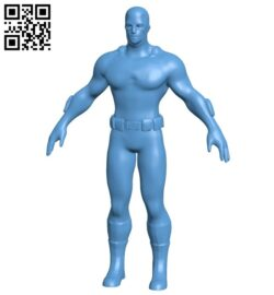 Captain America – superhero B009462 file obj free download 3D Model for CNC and 3d printer