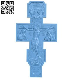 Cross symbol pattern A006340 download free stl files 3d model for CNC wood carving