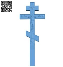 Cross symbol pattern A006347 download free stl files 3d model for CNC wood carving