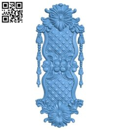 Door pattern A006391 download free stl files 3d model for CNC wood carving