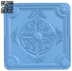 Door pattern A006394 download free stl files 3d model for CNC wood carving