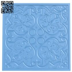 Door pattern A006399 download free stl files 3d model for CNC wood carving