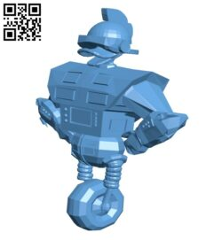 Gizmoduck B009404 file obj free download 3D Model for CNC and 3d printer