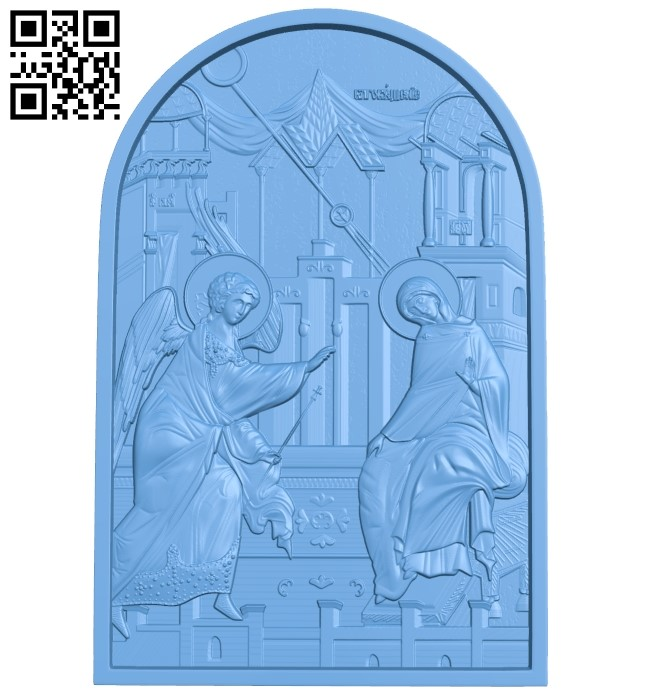 Icon A006351 download free stl files 3d model for CNC wood carving