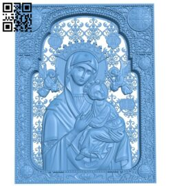 Icon of Unrelenting Help A006353 download free stl files 3d model for CNC wood carving