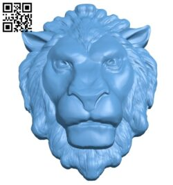 Lion head pattern A006336 download free stl files 3d model for CNC wood carving