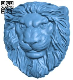 Lion pattern A006339 download free stl files 3d model for CNC wood carving