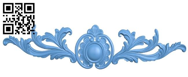 Pattern decor design A006372 download free stl files 3d model for CNC wood carving