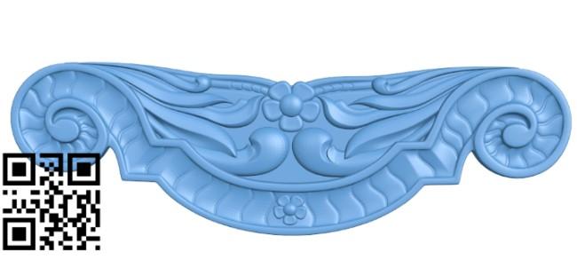 Pattern decor design A006375 download free stl files 3d model for CNC wood carving